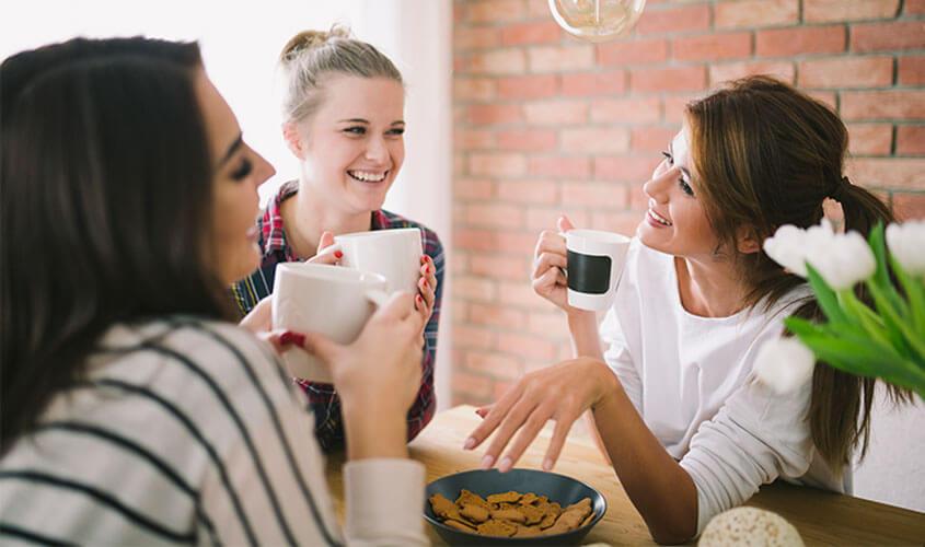 Frauen beim Meeting
